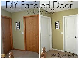 Five Panel Door Headboard Best 25 Door Redo Ideas On Pinterest Closet Door Redo Small