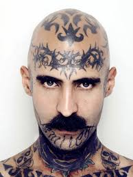 тату на лице 100 фото мужских и женских вариантов эскизы значение