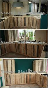 Easy Kitchen Makeover Kitchen Makeover With Recycled Pallets O Pallet Ideas O 1001 Pallets