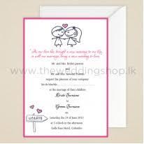 wedding invitations Elegance Wedding Cards Sri Lanka cute couple wedding invitation Sri Lankan Wedding Sarees