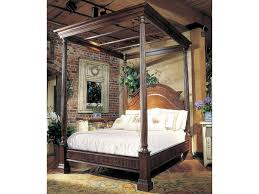 Habersham Beds Monet Queen Canopy Bed | Sprintz Furniture | Canopy Beds