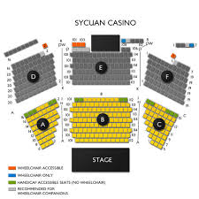Sycuan Casino 2019 Seating Chart