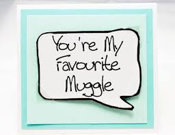 Harry Potter Love Quotes Mesmerizing Harry Potter Quote Card Cute Muggle Card For Birthdays Aqua Note