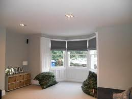 Fantastic And Good Bay Window Blinds  Wearefound Home DesignRoller Blinds Bay Window