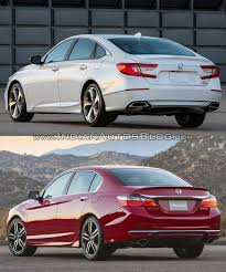 2018 honda accord pictures. delighful pictures 2018 honda accord vs 2016 rear three quarters on honda accord pictures