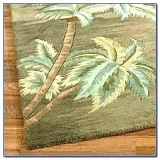 palm tree rugs tropical outdoor new best of rug home outdo area design chocolate ivory indoor