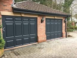 upvc garage doors anthracite grey