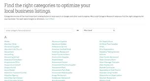 Choosing Local Business Categories | Local SEO - Moz