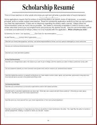 Scholarship Resume Sample Scholarship Resumes Examples Opulent Scholarship Resume Stylist 10