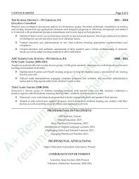 Education Focused Resumes Education Consultant Resume Example Classroom Instruction Ideas