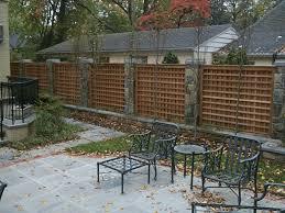 white privacy fence ideas. Lattice Privacy Fence Contemporary White Ideas
