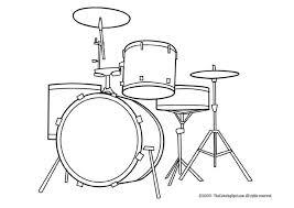 Draw So Cute Drums Golfclub