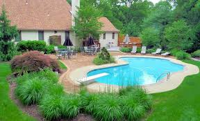 Backyard Pool Designs Landscaping Pools Magnificent 48 Pool Landscape Design Ideas Home Design Lover