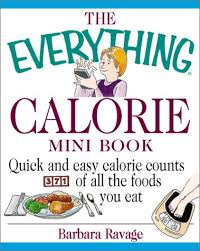 Food Calorie Book Books Diet And Nutrition Everything Mini Books