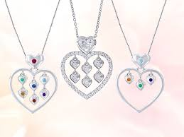 exclusive mother s heart necklaces