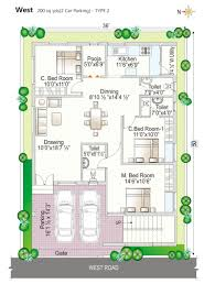 Navya Homes Beeramguda Hyderabad Residential Property Floor Plan