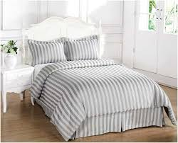best grey white stripe duvet cover a covers charming wall ideas decoration