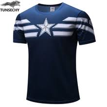 Buy captain <b>marvel t shirt</b> and get free shipping on AliExpress