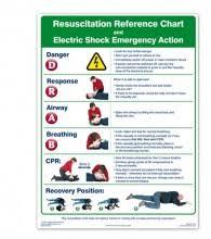 Resuscitation Wall Chart Poster Si0004