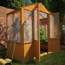 billyoh 4000 lincoln wooden polycarbonate small greenhouse