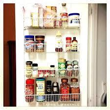 door storage rack back of door pantry storage over the door pantry organizer storage rack with door storage rack