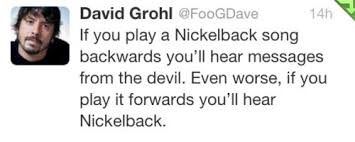 Dave Grohl hates Nickelback | Quotes | Pinterest | Dave Grohl ... via Relatably.com