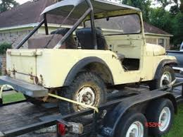 1955 Im Told Cj 5 Cant Find The Serial Number Anywhere