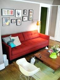 red sofa living room best red sofa decor ideas on couch rooms impressive what color walls