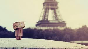danbo wallpaper 1920x1080. Brilliant 1920x1080 64 1920x1080 34400 Danboard Walking Sadness  Preview Wallpaper  Box Robot Paris Eiffel Tower On Danbo Wallpaper G