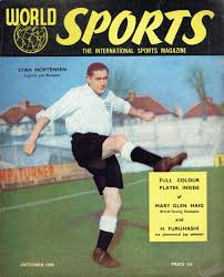 WORLD SPORTS UK MAGAZINE OCTOBER 1950 STAN MORTENSEN Vintage and Modern  Magazines - Vintage Magazines