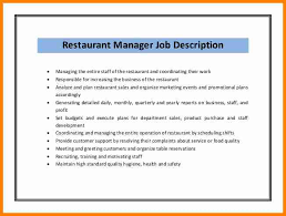 Amusing Restaurant Owner Job Description For Resume 13 For Best Resume Font  with Restaurant Owner Job Description For Resume