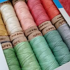 Aurifil Quilting thread | Quilting thread, Haberdashery and Embroidery & Box of hand quilting threads in