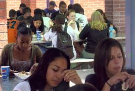 high school lunch table. High School Lunch Table