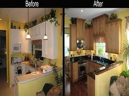 galley kitchen remodel before and after on a budget with kitchen remodel ideas before and after