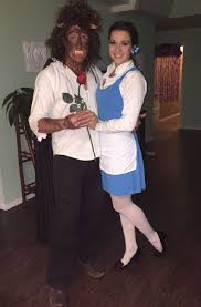 homemade beauty and the beast costume