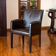 leather dining room arm chairs nashgrad leather dining chairs with arms