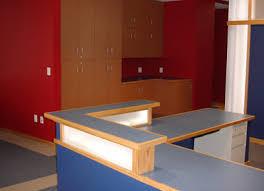 office countertop. Laminate Countertop · Office