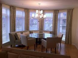 Dining Room Bay Window Treatments Dining Room Window Treatments 2017 Window  Treatments For Bay Windows In