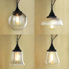 clear pendant lighting s nysa led pendant ceiling light clear