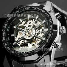 men s mechanical watches skeleton watch new style automatic winner men s mechanical watches skeleton watch new style automatic winner brand stainless steel band 01