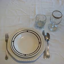Italian Table Setting Similiar Italian Table Etiquette Keywords