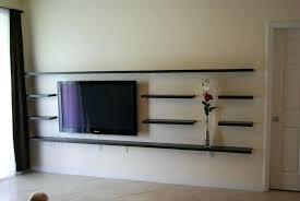 wall shelves tv floating wall mounted shelves floating component shelf wall mount shelf size of corner