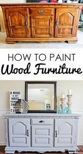 painted wood furnitureHow to Chalk Paint Furniture  Chalk paint tutorial Chalk paint