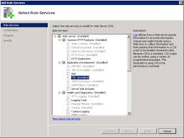 Microsoft IIS 7.0 and later