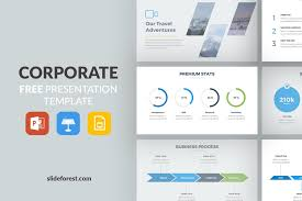 powerpoint company presentation corporate free presentation template presentations on slideforest