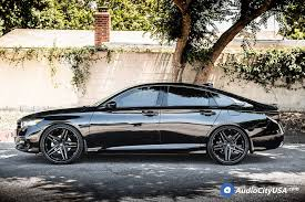 Maybe you would like to learn more about one of these? 22 Lexani Wheels Ekko With Matte Black Rims For 2018 Honda Accord Sport Lexani Tires Audo City Usa Audio City Usa