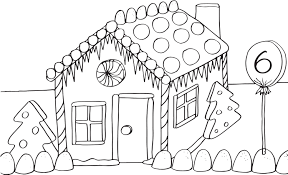 gingerbread house coloring sheet merry christmas with gingerbread house coloring pages womanmate to
