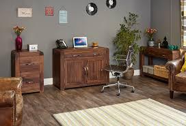 hidden home office. Shiro Walnut Hidden Home Office Image 5