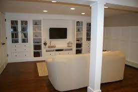 Basement Apartment Design Magnificent Basement Remodel Would Like A Built In Wall Unit In Kids Area