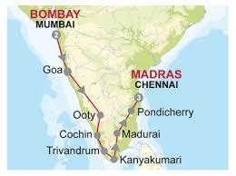 Madras Map